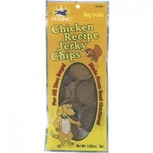 Chicken Jerky Chip Treats