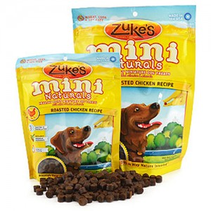 Zuke's Mini Natural Dog Treats