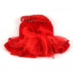 Red Caliente Dog Dress