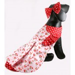 Cherry and Polka Dot Dog Dress