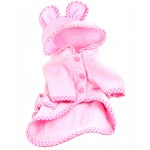 Pink Bunny Bath Robe for Dogs
