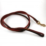 Lexington Roll Leather Leash