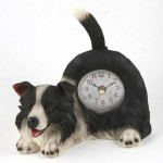 Wagging Tail Dog Clock [2 BREEDS]