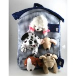 Plush Dog House Toy for Kids