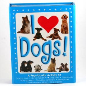 I Love Dogs!: A Pup-tacular Activity Kit