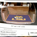 LSU Tailgate Kennel Pad